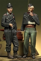 Alpine 35183 - German Panzer Crew Set (2 figures)