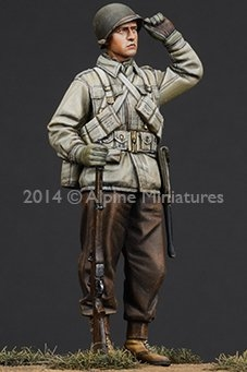 Alpine 35185 - WW2 US Infantry