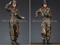 Alpine 35189 - WSS Panzer Commander Set (2 figures)