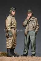 Alpine 35192 - US Tank Crew Set (2 figures)