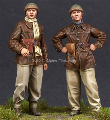 Alpine 35198 - WW2 French Tank Crew Set