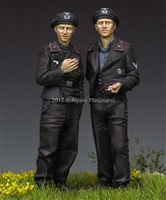 Alpine 35228 - German Panzer Crew Set (2 figures)