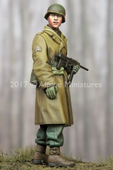 Alpine 35241 - WW2 US Infantry NCO Winter