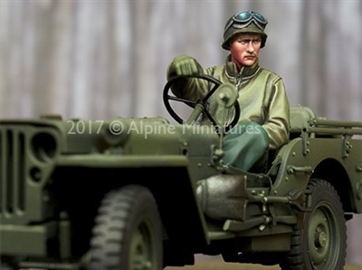 Alpine 35242 - WW2 US Jeep Driver