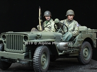 Alpine 35262 - US Jeep Crew Set (2 figures)