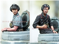 Alpine 35265 - German Panzer Commander, Summer Set (2 figures)
