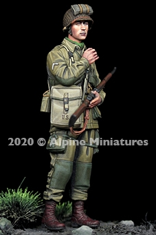 Alpine 35276 - US 101st Airborne Trooper #2