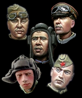 Alpine H013 - WW2 Russian Heads #1