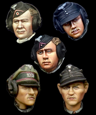 Alpine H021 - German Panzer Crew Head Set #1