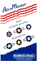 AeroMaster 48-054 - US Insignia (star & bars)