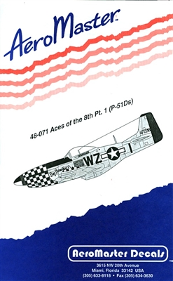 AeroMaster 48-071 - Aces of the 8th, Part 1 (P-51Ds)