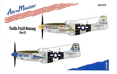 AeroMaster 48-073 - Pacific P-51D Mustang, Part II