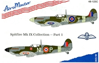 AeroMaster 48-123 Spitfire Mk IX Collection, Part 1