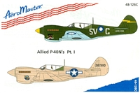 AeroMaster 48-126 Allied P-40N's, Part I