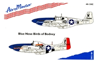 AeroMaster 48-130 Blue Nose Birds of Bodney