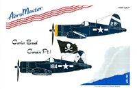 AeroMaster 48-137 Carrier Based Corsairs, Pt I