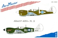 AeroMaster 48-150 Allied P-40N's, Part 2