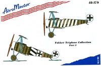 AeroMaster 48-179 Fokker Triplane Collection, Part I