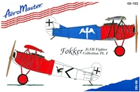 AeroMaster 48-183 Fokker D.VII Fighter Collection, Part I