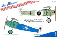 AeroMaster 48-184 Fokker D.VII Fighter Collection, Part II