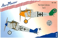 AeroMaster 48-186 Pfalz Fighter Collection, Part II