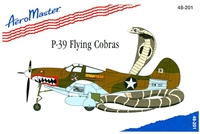 AeroMaster 48-201 P-39 Flying Cobras