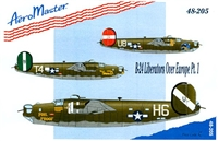 AeroMaster 48-205 B-24 Liberators Over Europe, Part I