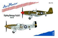 AeroMaster 48-213 Fighting Mustangs, P-51B/C, Part III