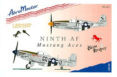 AeroMaster 48-225 Ninth AF Mustang Aces