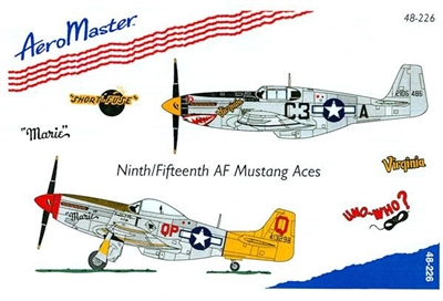 AeroMaster 48-226 Ninth/Fifteenth AF Mustang Aces