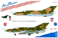 AeroMaster 48-242 MiG-21's: New World Fishbeds