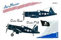 AeroMaster 48-254 Carrier Based Corsairs, Part 2