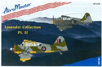 AeroMaster 48-258 Lysander Collection, Part II