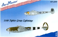 AeroMaster 48-289 - 20th Fighter Group Lightnings