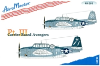 AeroMaster 48-291 - Carrier Based Avengers, Part III