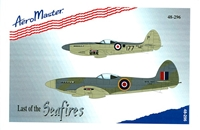 AeroMaster 48-296 - Last of the Seafires