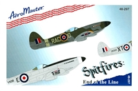 AeroMaster 48-297 - Spitfires: End of the Line