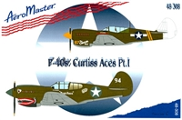 AeroMaster 48-308 P-40s:?? Curtiss Aces Part I