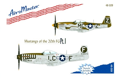 AeroMaster 48-309 Mustangs of the 20th FG, Part I