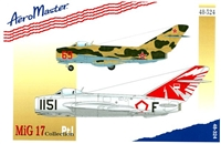 AeroMaster 48-324 MiG 17 Collection, Part I