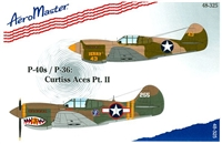 AeroMaster 48-325 P-40s / P-36: Curtiss Aces, Part II
