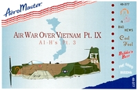AeroMaster 48-377 - Air War over Vietnam, Pt. IX (A1-H's Pt. 3)