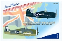 AeroMaster 48-399 Royal Navy Hellcats of the British East Indies & Pacific Fleets 1945