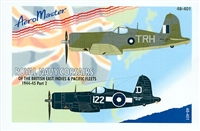 AeroMaster 48-401 Royal Navy Corsairs of the British East Indies & Pacific Fleets 1944-45, Part 2
