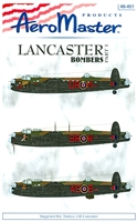 AeroMaster 48-451 Lancaster Bombers, Part I