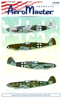 AeroMaster 48-494 Last of the Breed Bf 109K, Part 3