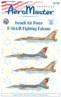 AeroMaster 48-498 Israeli Air Force F-16A/B Fighting Falcons