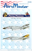 AeroMaster 48-502 - Phancy Phantoms, Part II (VF-96, VF-92)