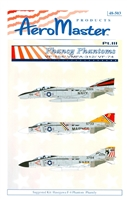 AeroMaster 48-503 - Phancy Phantoms, Part III (VF-154 / VMFA-312 / VF-74)