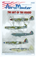 AeroMaster 48-527 The Last of the Legend, Late Far East Spitfires Part 1, 1945-1954